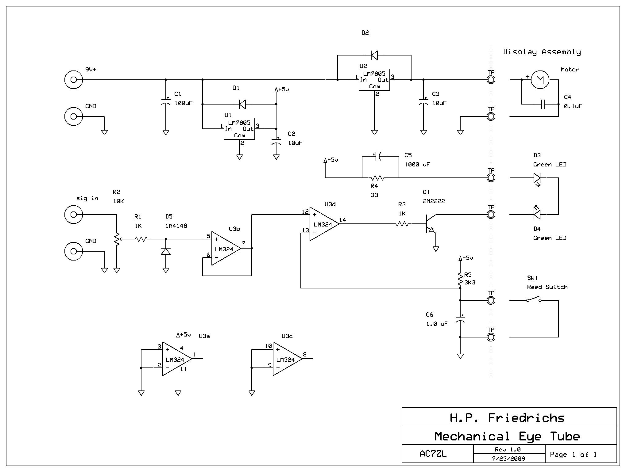 The Hp Friedrichs Ac7zl Homepage Ir Sensor Circuit Diagram Using Lm324
