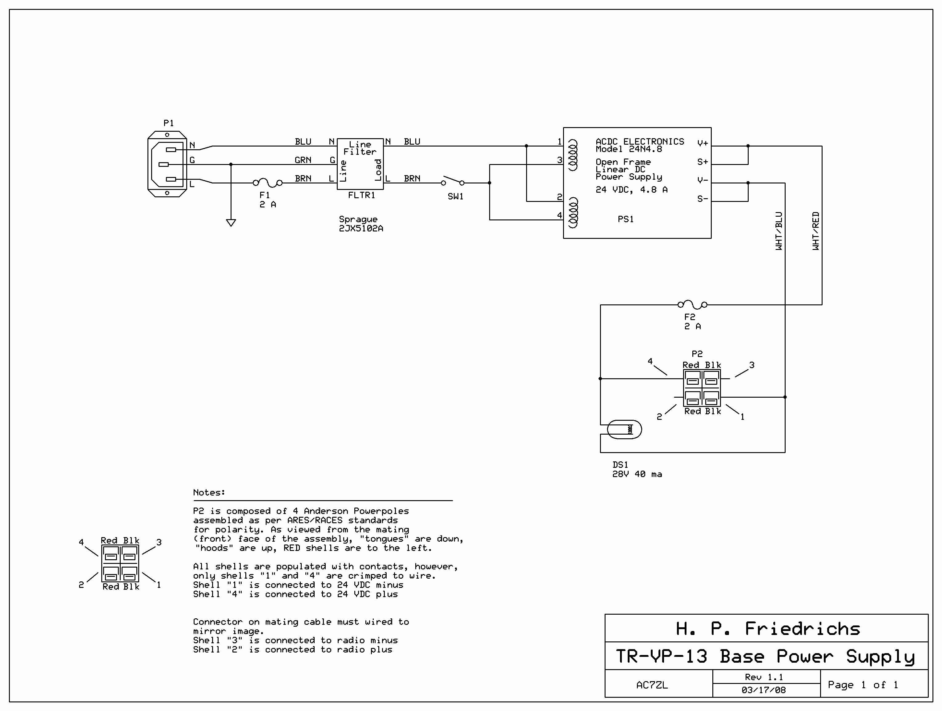 Fuse Power Supply Circuit Diagram
